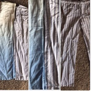 Linen pants. Perfect for vacay!